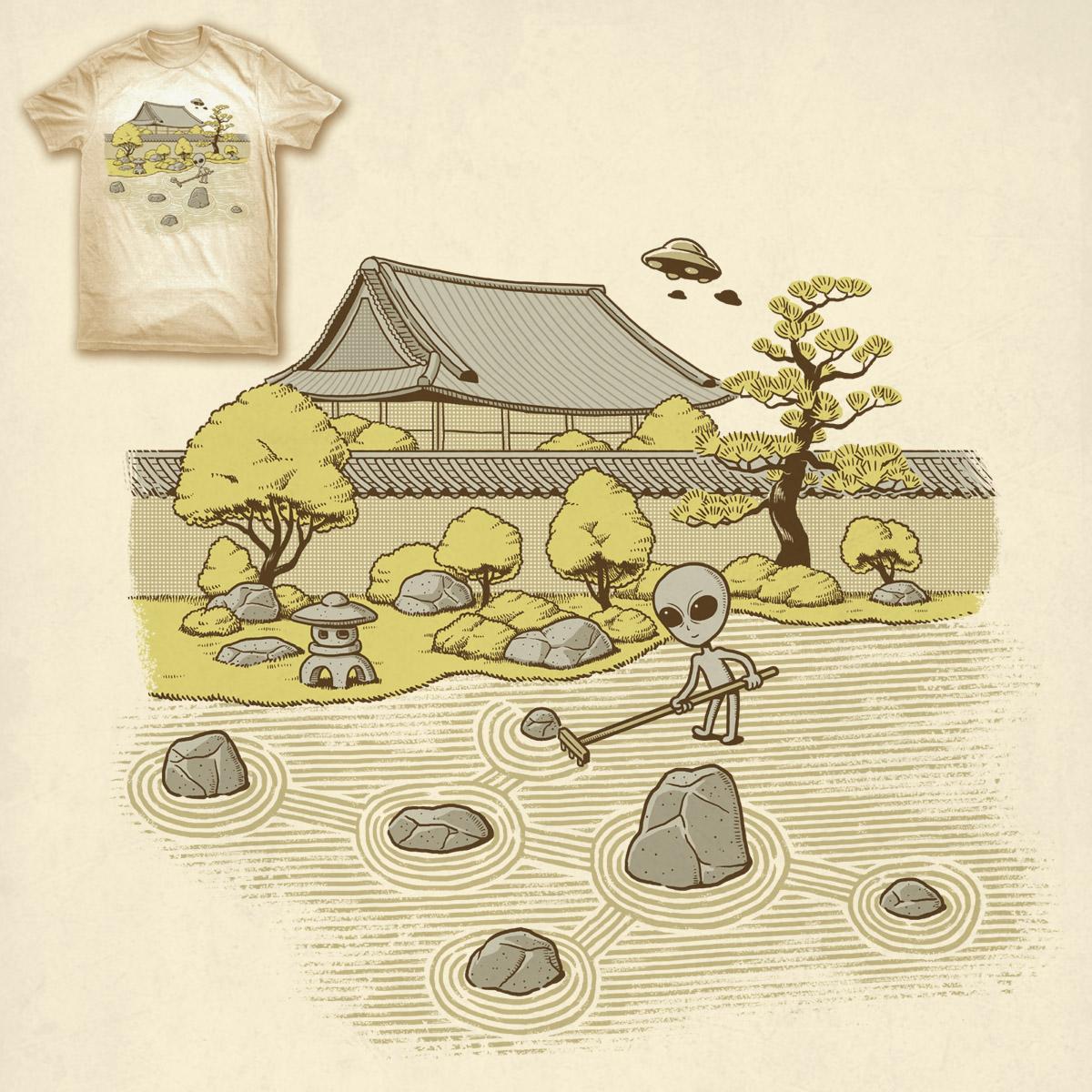 Karesansui Crop Circles by ben chen on Threadless
