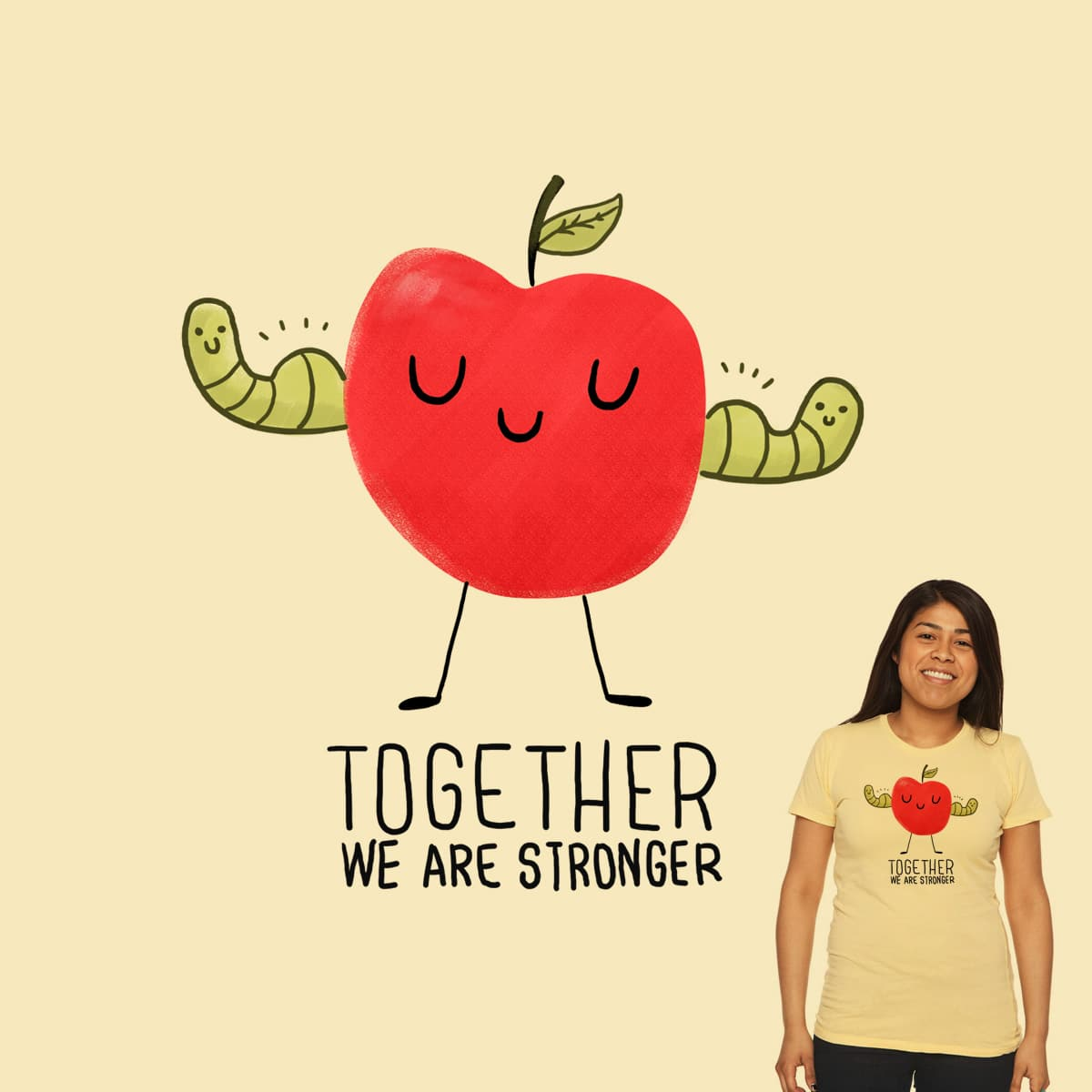 Together we are stronger by ppmid on Threadless