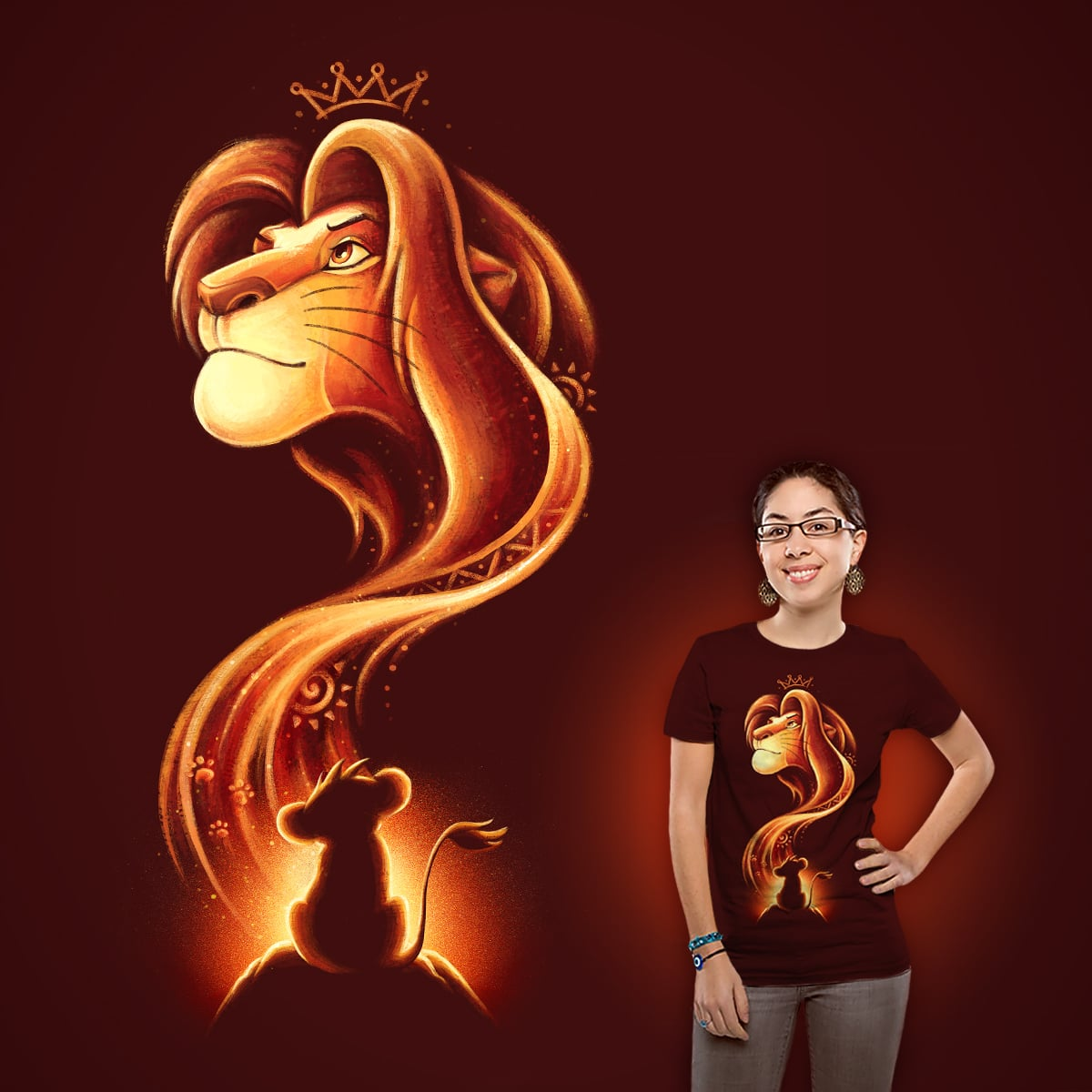 The New King by buko on Threadless