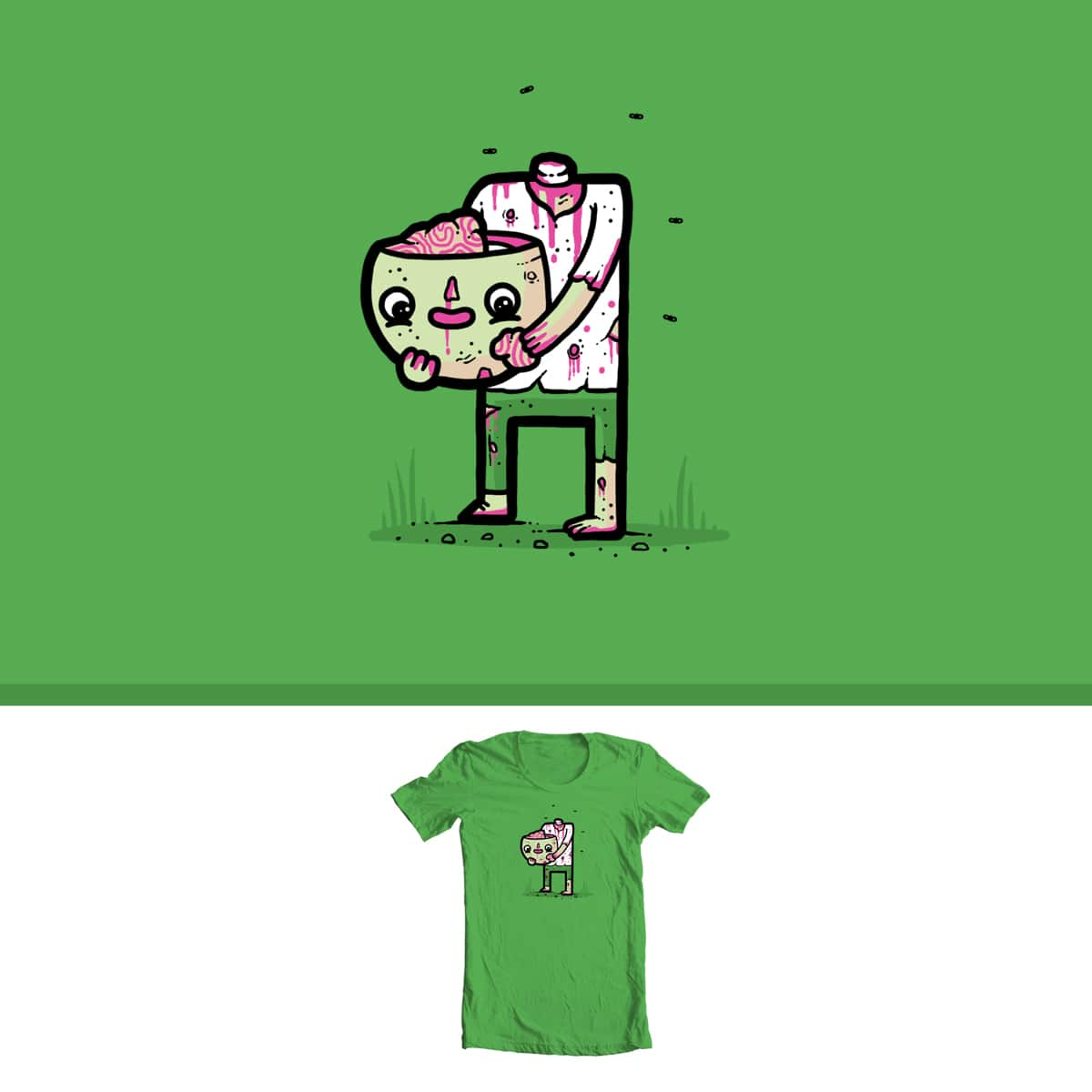 Self sufficient by randyotter3000 on Threadless