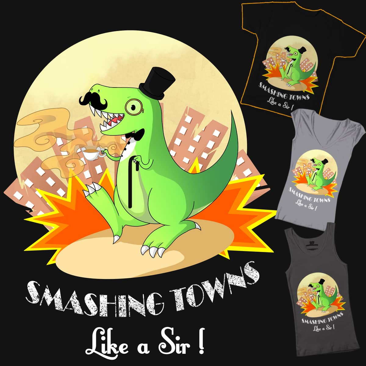 Smashing Towns by WillowSan on Threadless