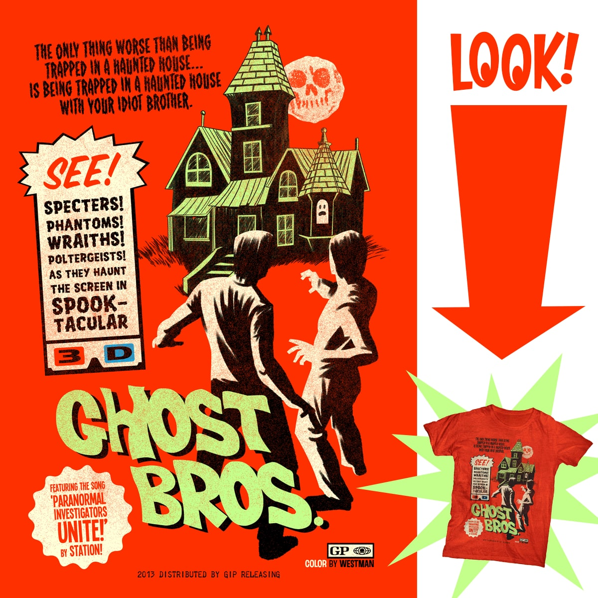 GHOST BROS. by r.o.b.o.t.i.c.octopus on Threadless