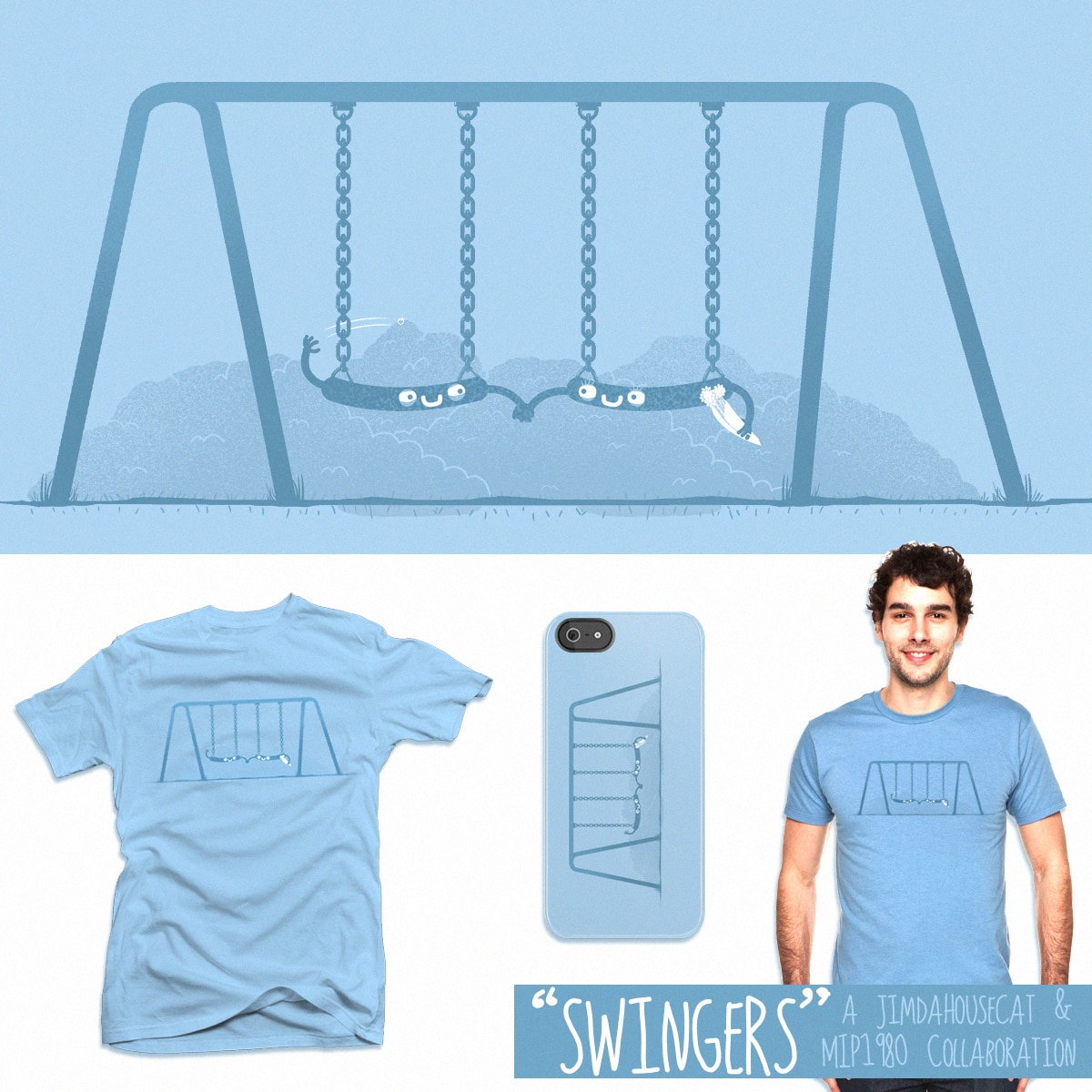 Swingers by JIMDAHOUSECAT and mip1980 on Threadless