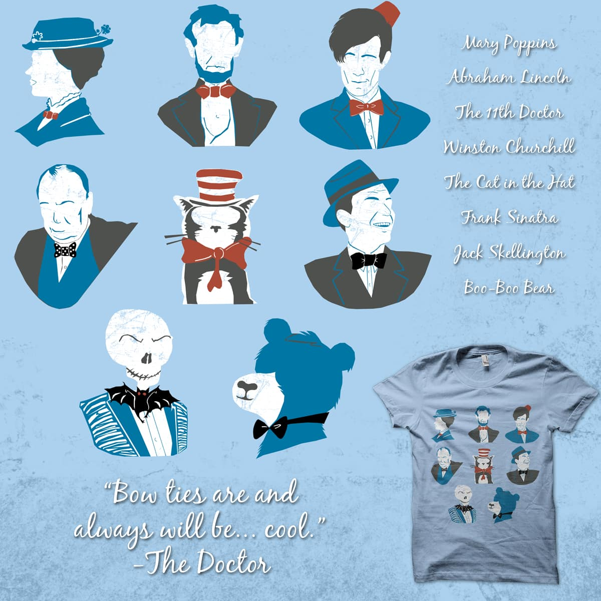 Bow Times by thespence on Threadless