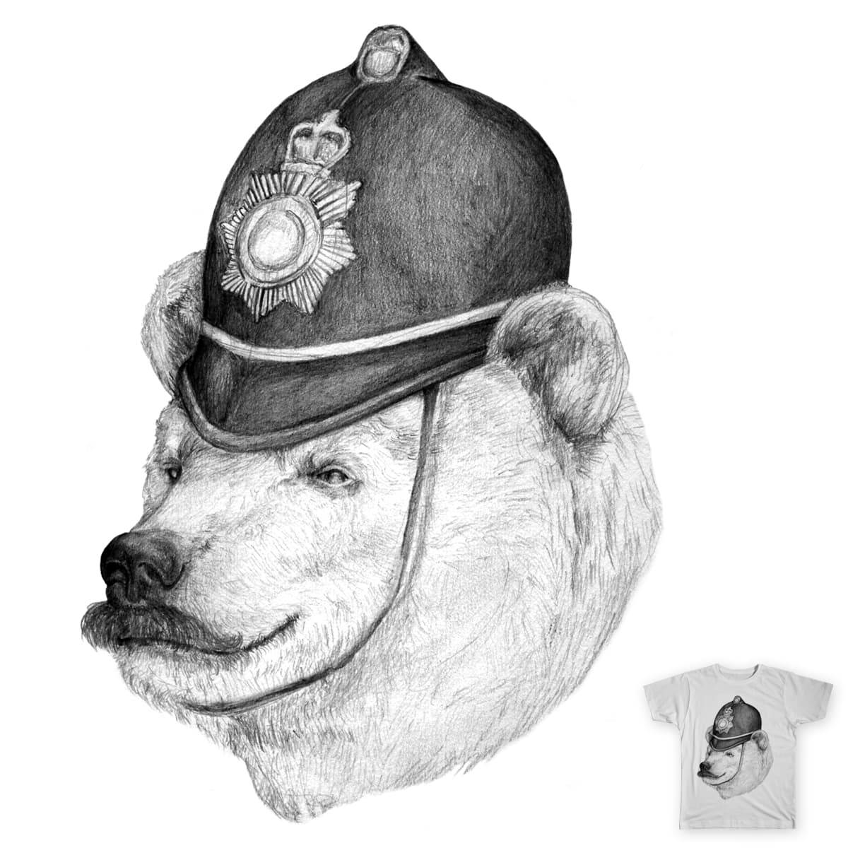 Bearly Legal by murraymullet on Threadless