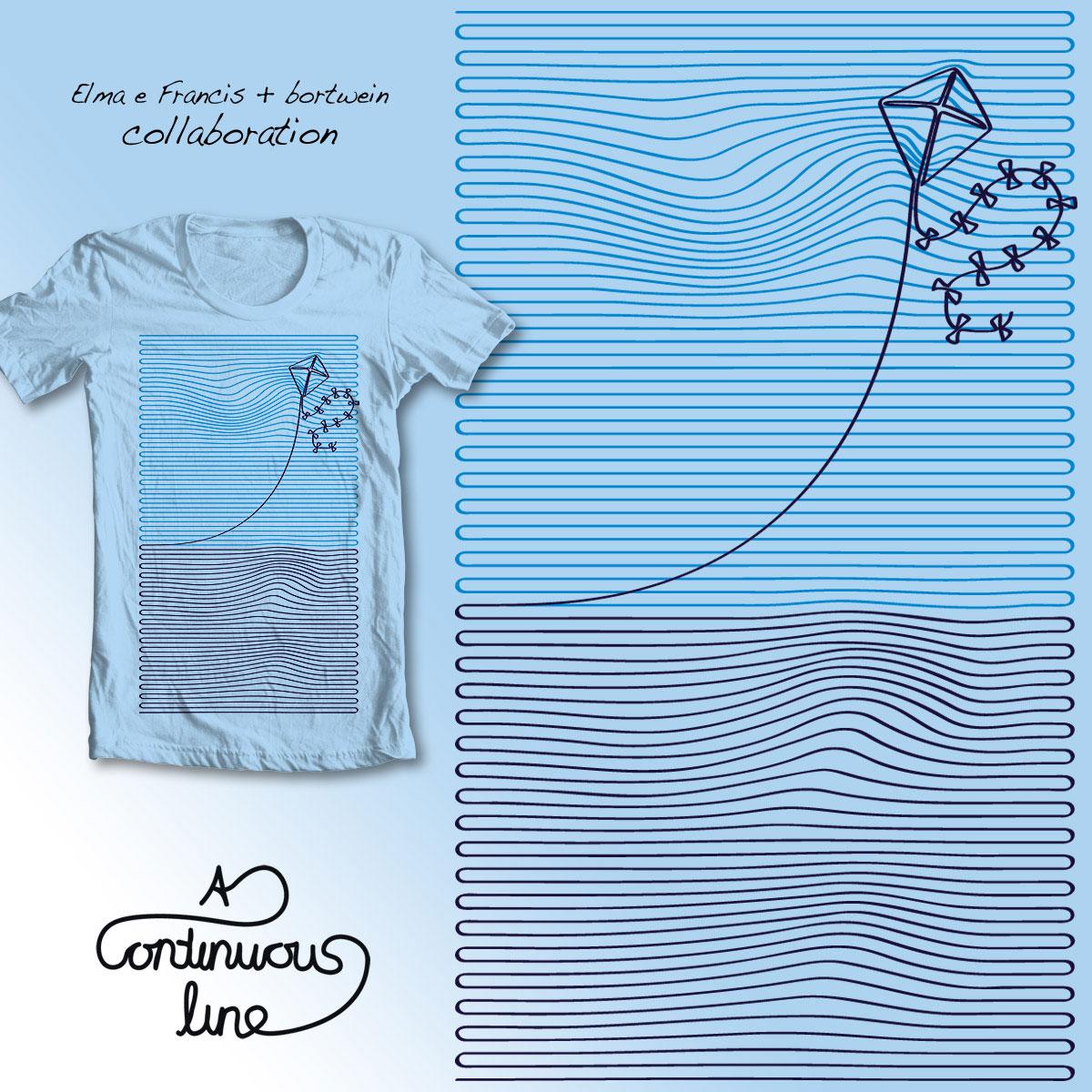 The Kite Line by bortwein and Elma e Francis on Threadless