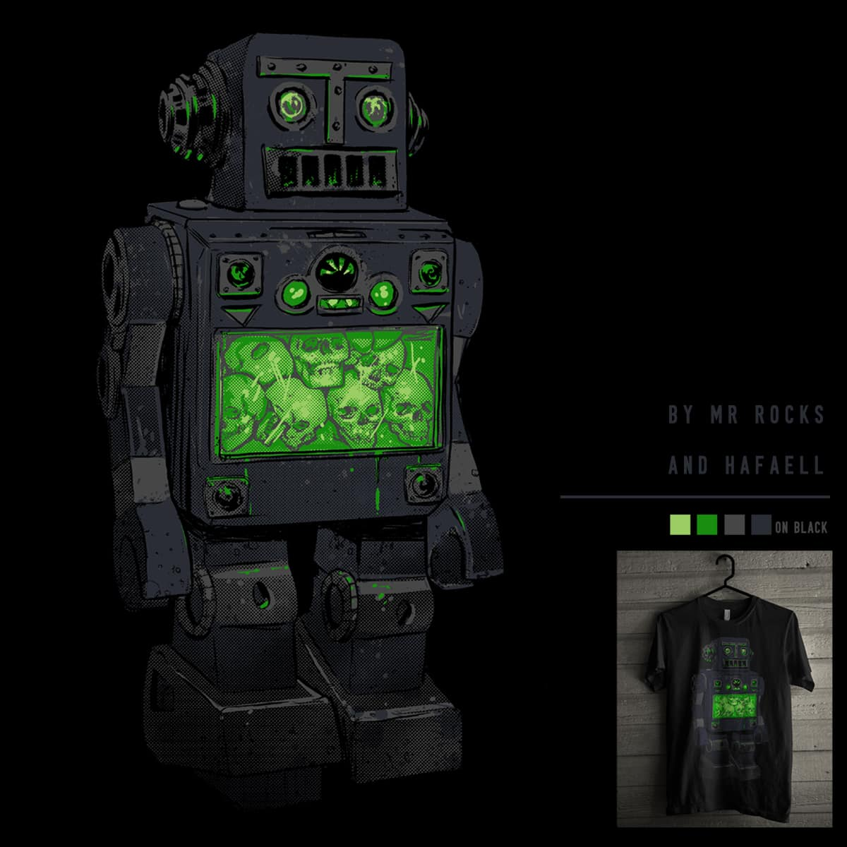 THE DISTANT FUTURE by Mr Rocks and hafaell on Threadless