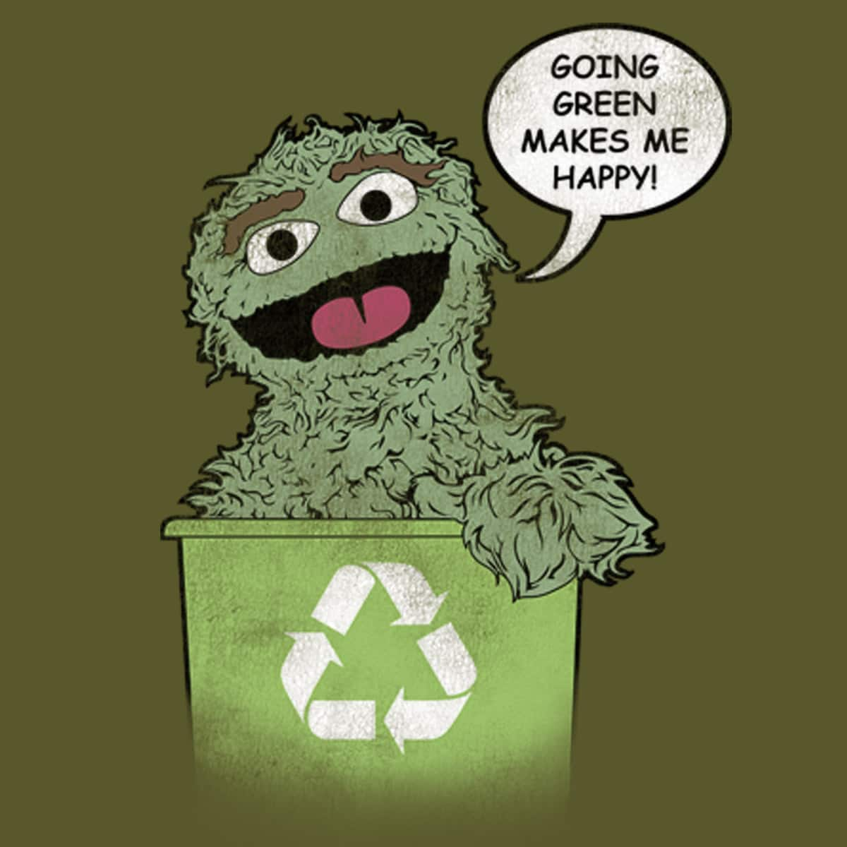 Going Green by MDKAVANAGH on Threadless