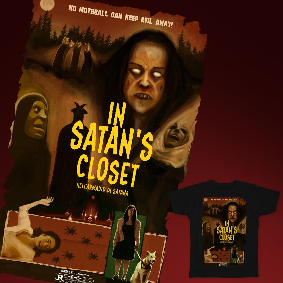 In Satan's Closet by chuckramos and FinalGirl on Threadless