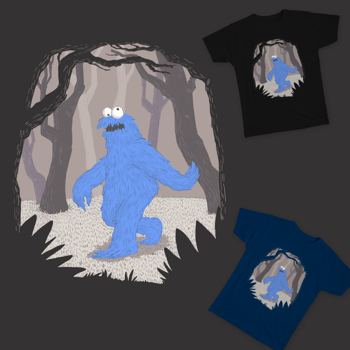 The Missing Link by lxromero on Threadless