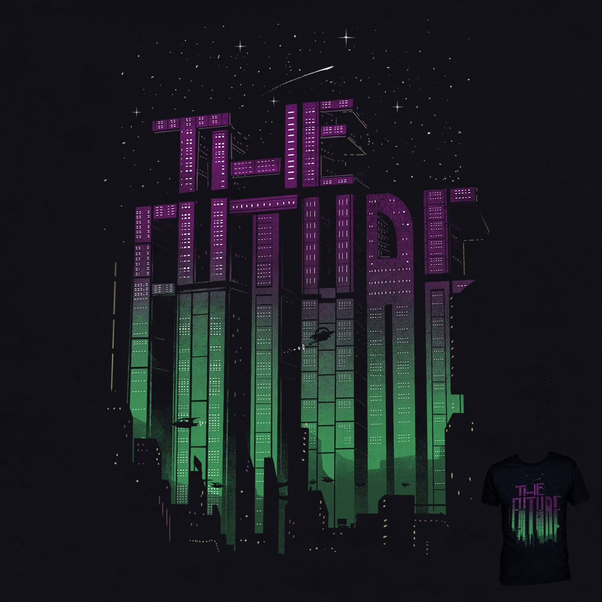 Building The Future  by DannE-B on Threadless