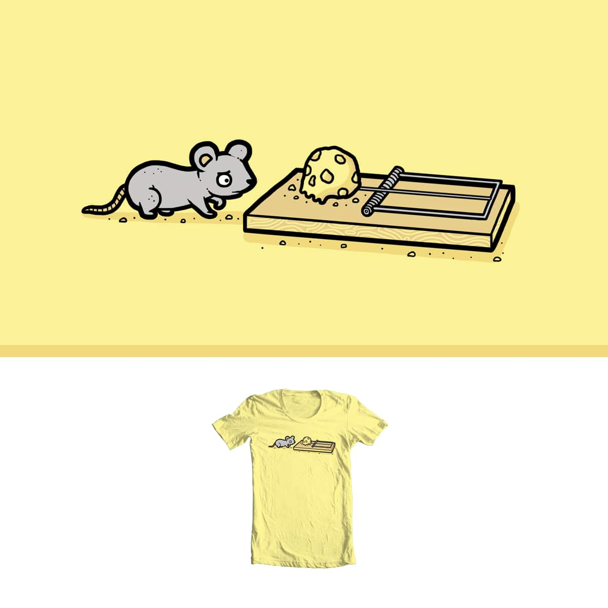 Mouse trap by randyotter3000 on Threadless
