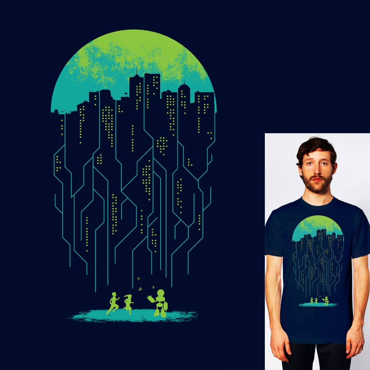 City of Future by StevenT on Threadless