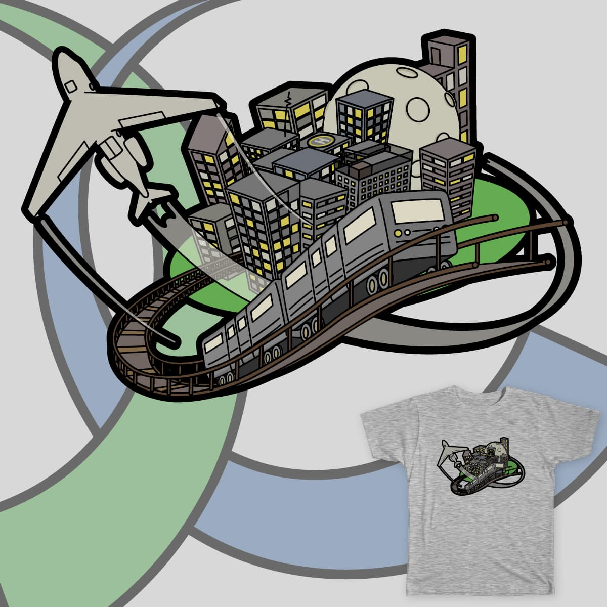 The City by callaghanl on Threadless
