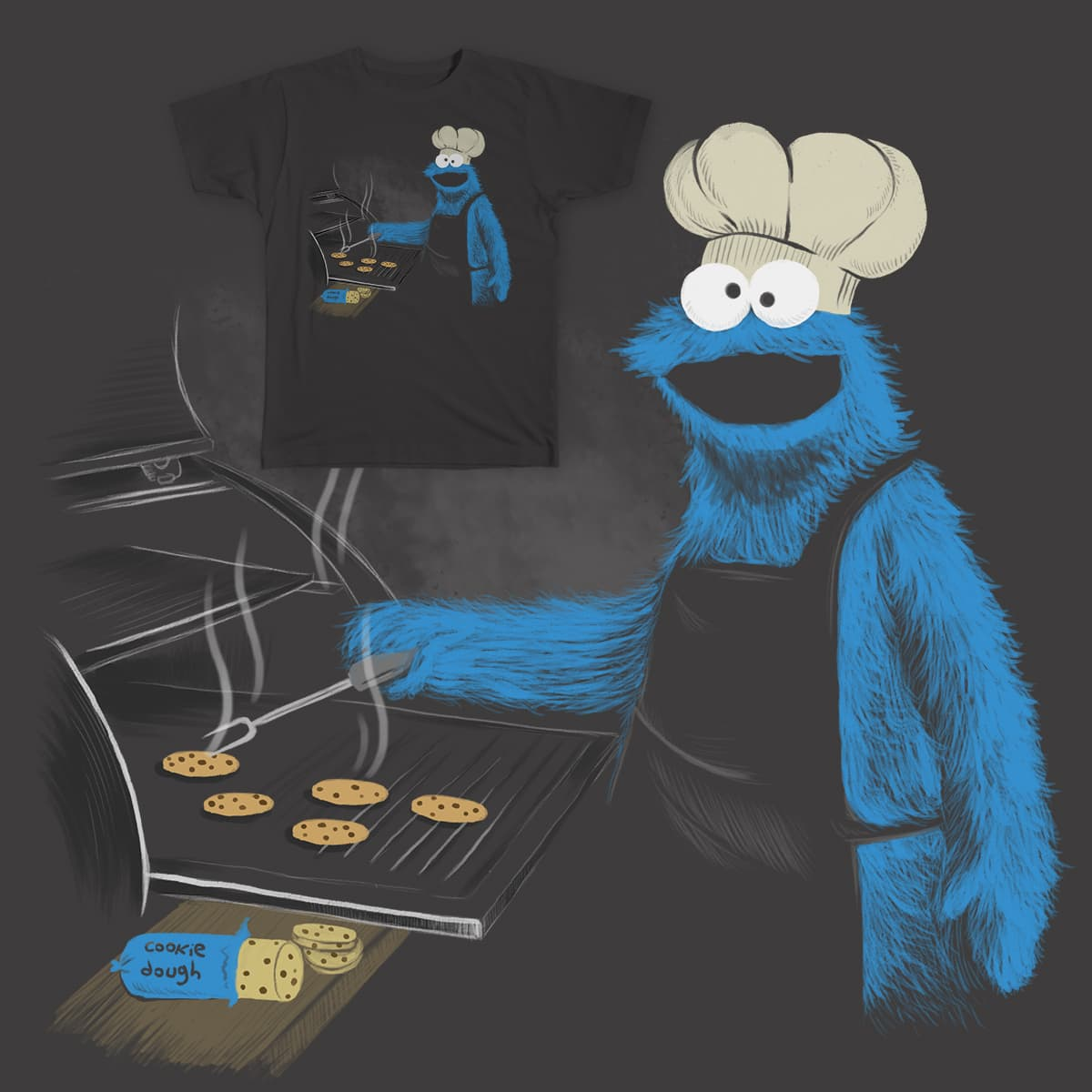 COOKIE BBQ by coniconon on Threadless