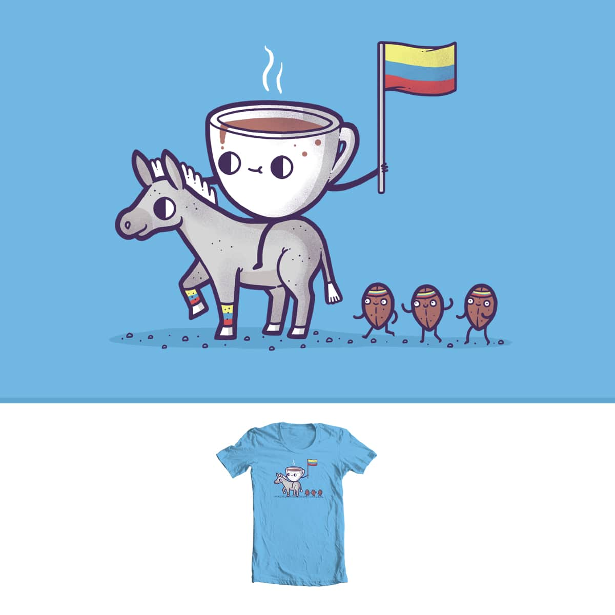 Columbian Coffee by randyotter3000 on Threadless