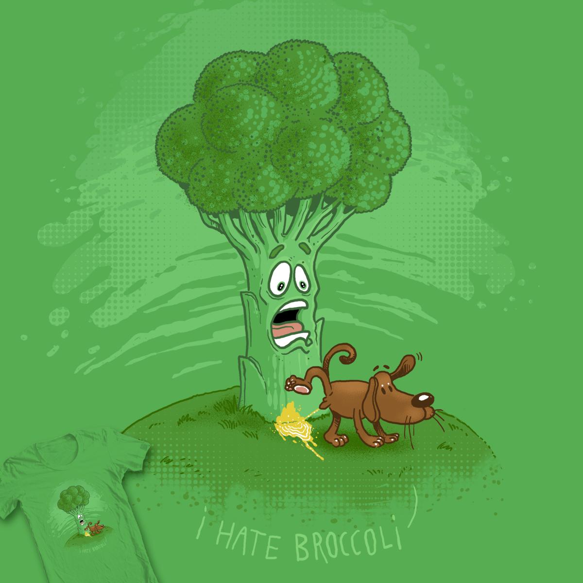 I HATE BROCCOLI by Oktomanuba on Threadless