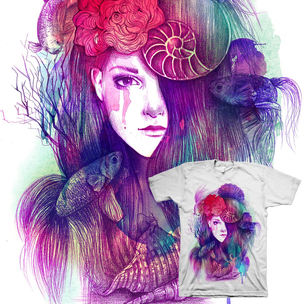The Endless Sea by NandaCorrea on Threadless