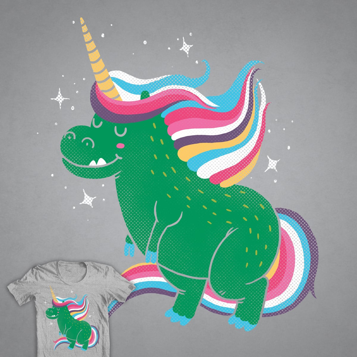 The Majestic Unicorn Rex by TheInfamousBaka on Threadless