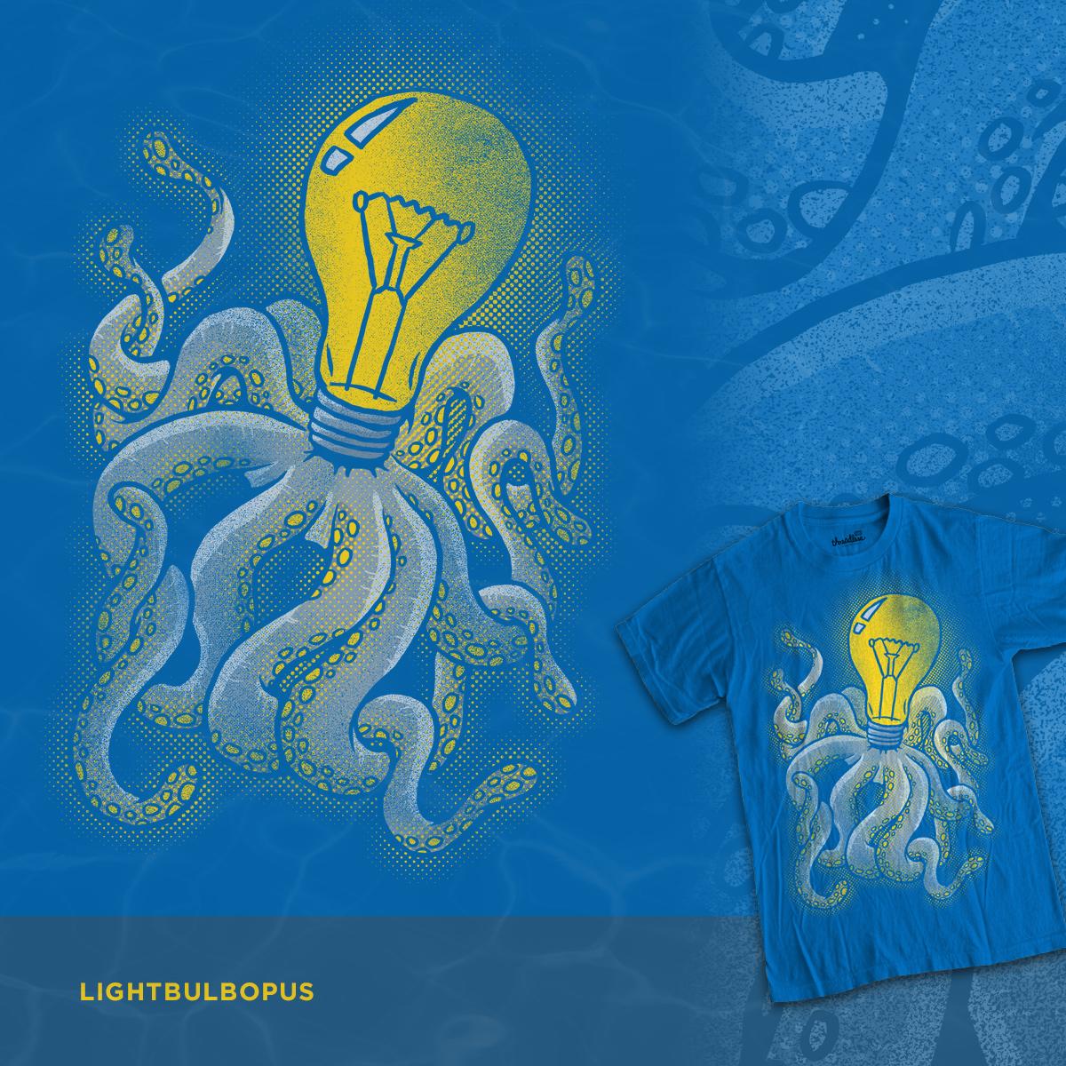 Lightbulbopus by WanderingBert on Threadless