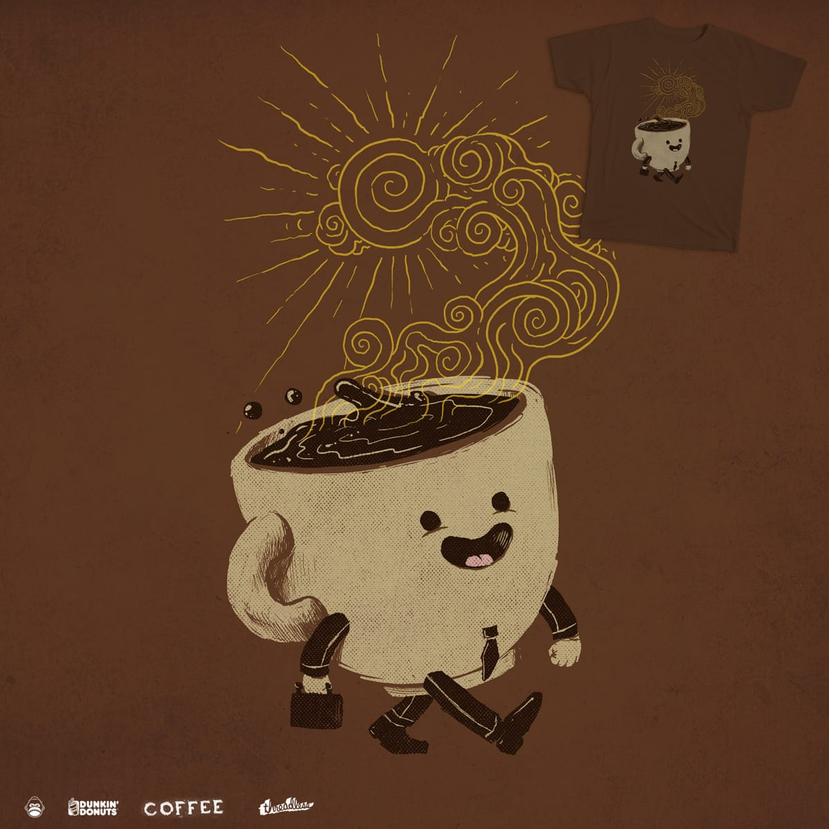 Morning Coffee by alexmdc on Threadless
