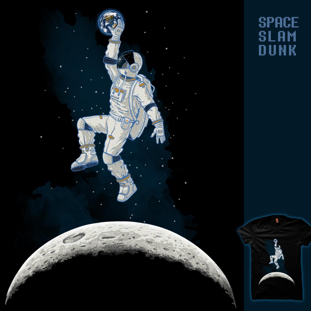 space slam dunk by Oktomanuba on Threadless
