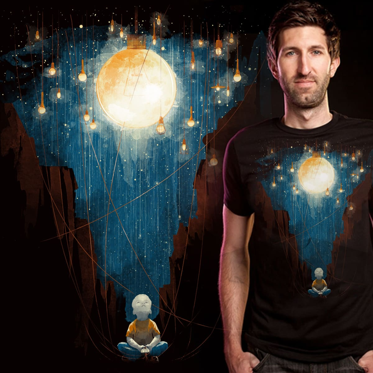Switch on the lights by Mr-Wayne on Threadless