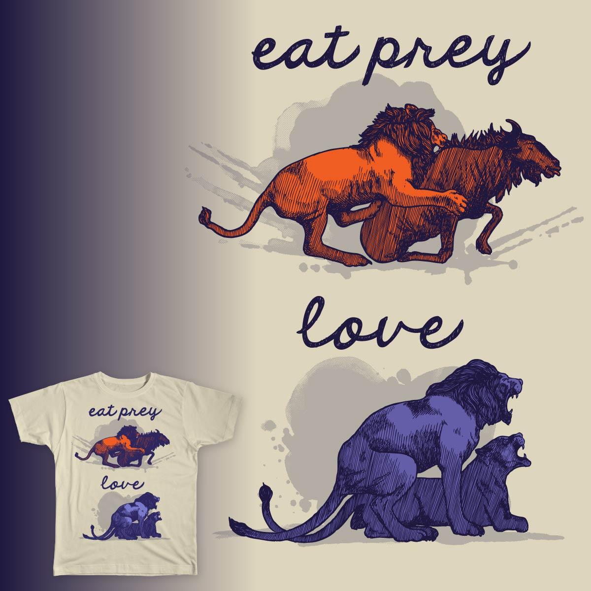 Eat Prey, Love by Vatolobo on Threadless