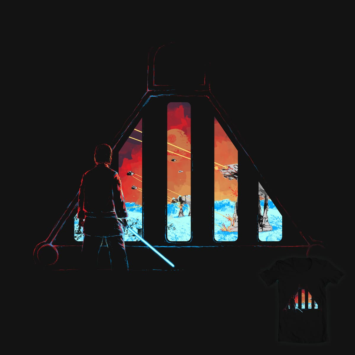 The Empire Strikes Back by diekave on Threadless