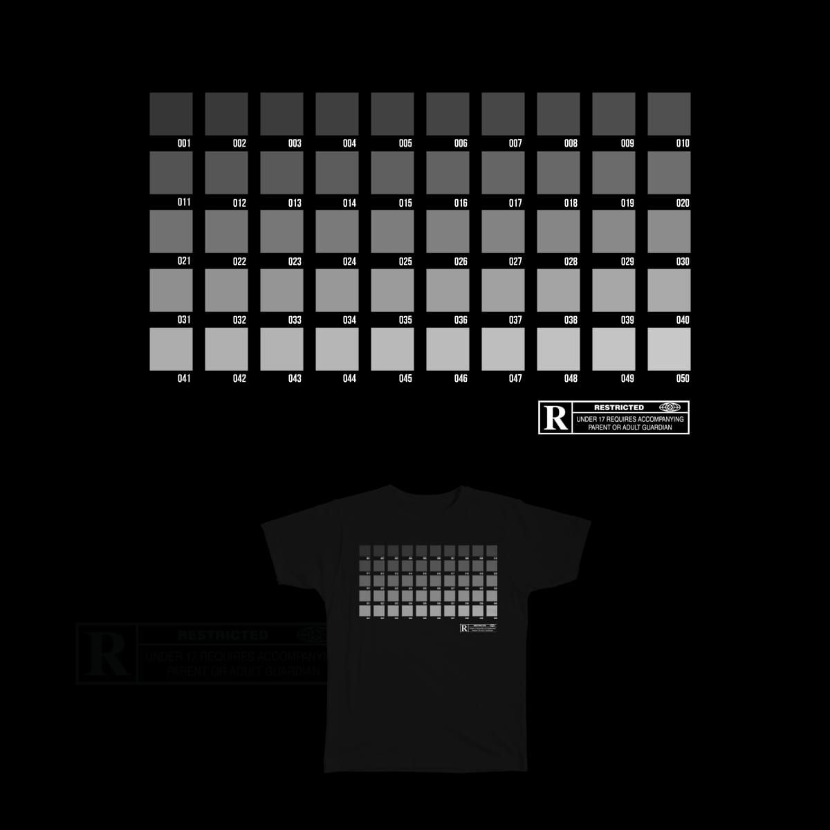 Fifty Shades of Grey by dyljos on Threadless