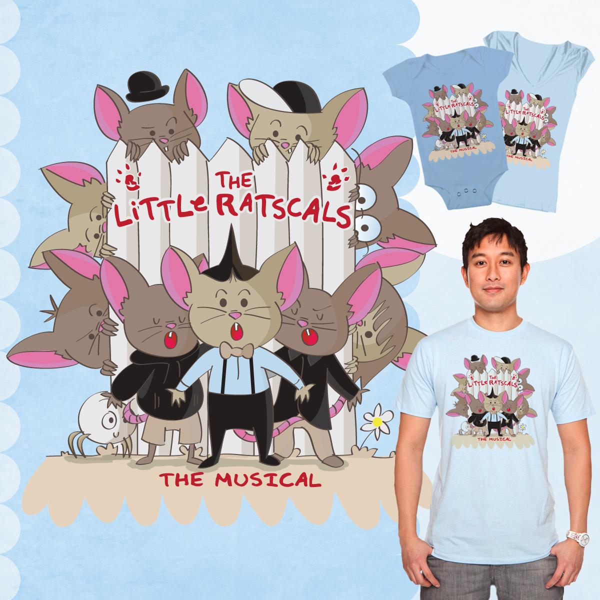 The Little Ratscals by hurstdrew on Threadless