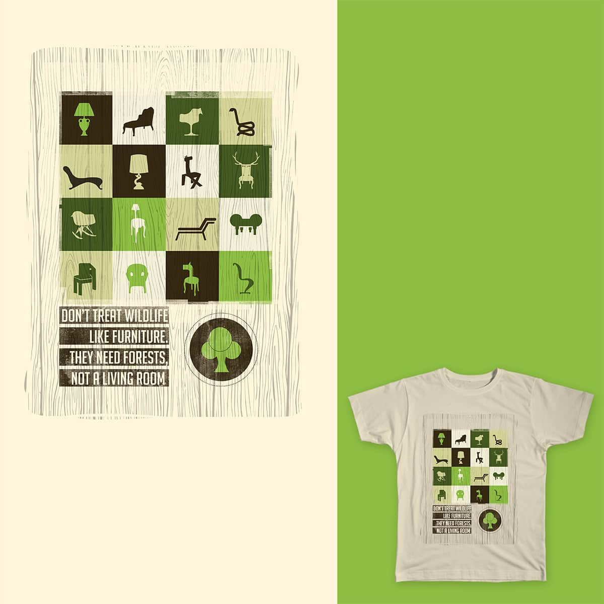 save forests. by rppatel on Threadless