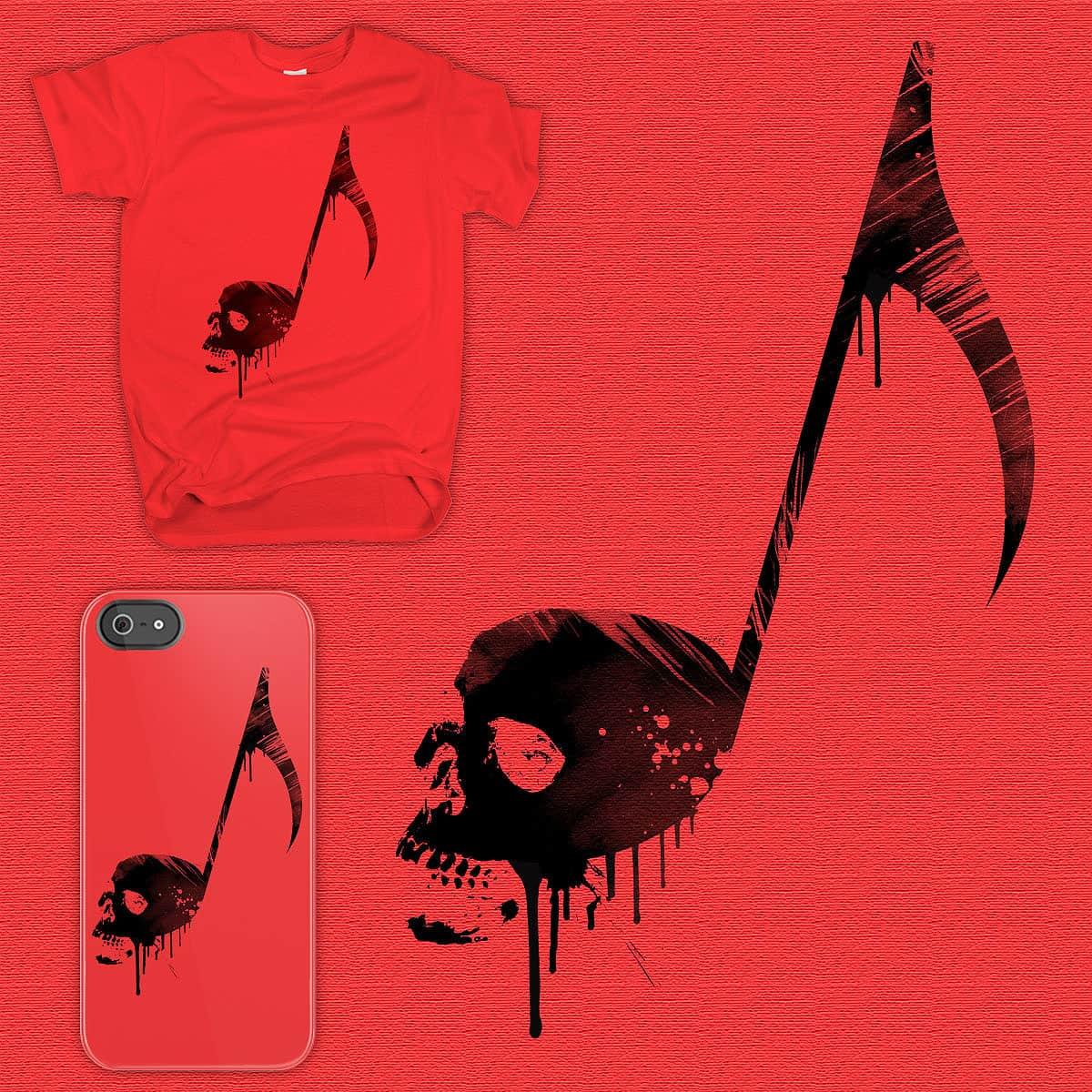 The Death Note by Agimat ni Ingkong on Threadless