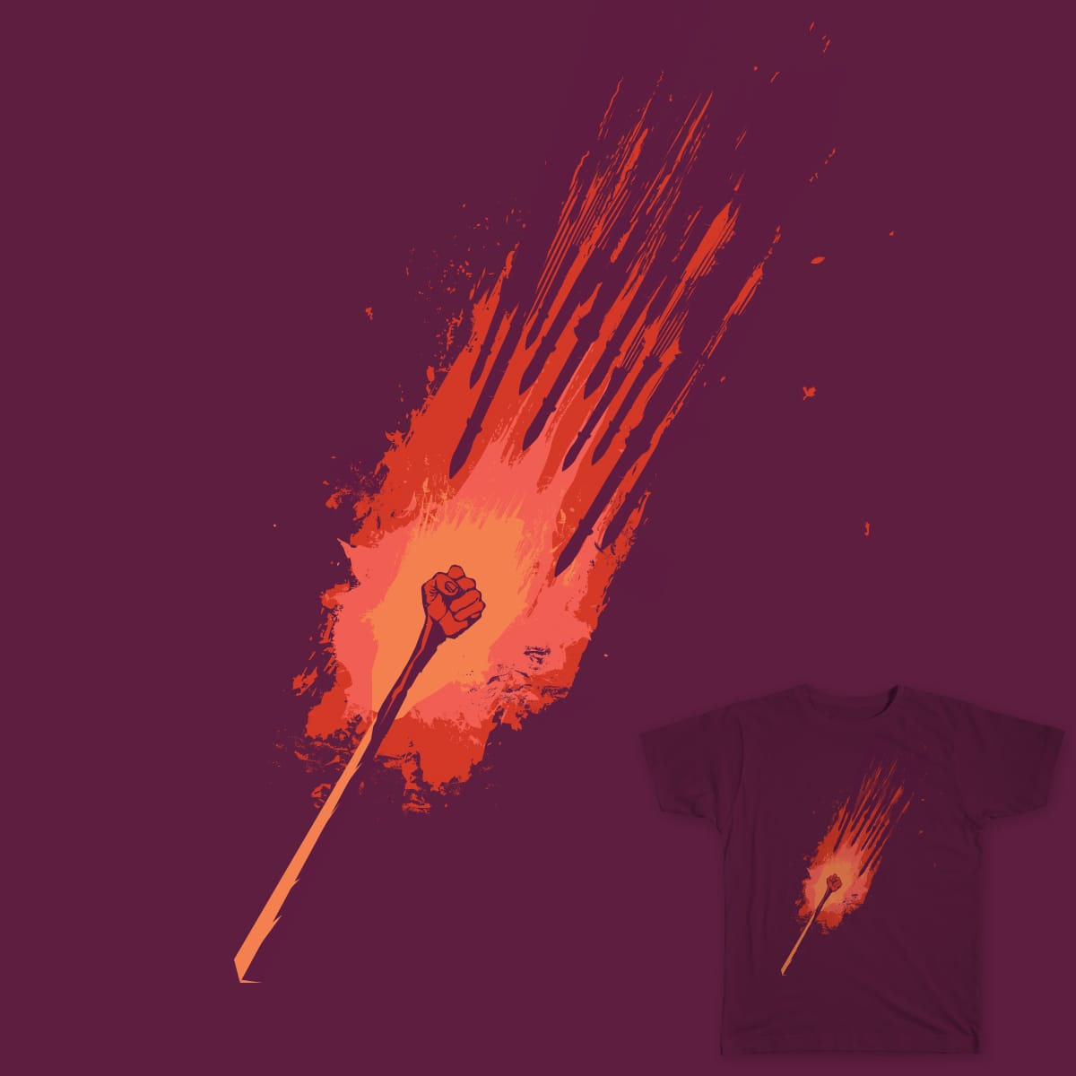 Spark by MothannaHussein on Threadless