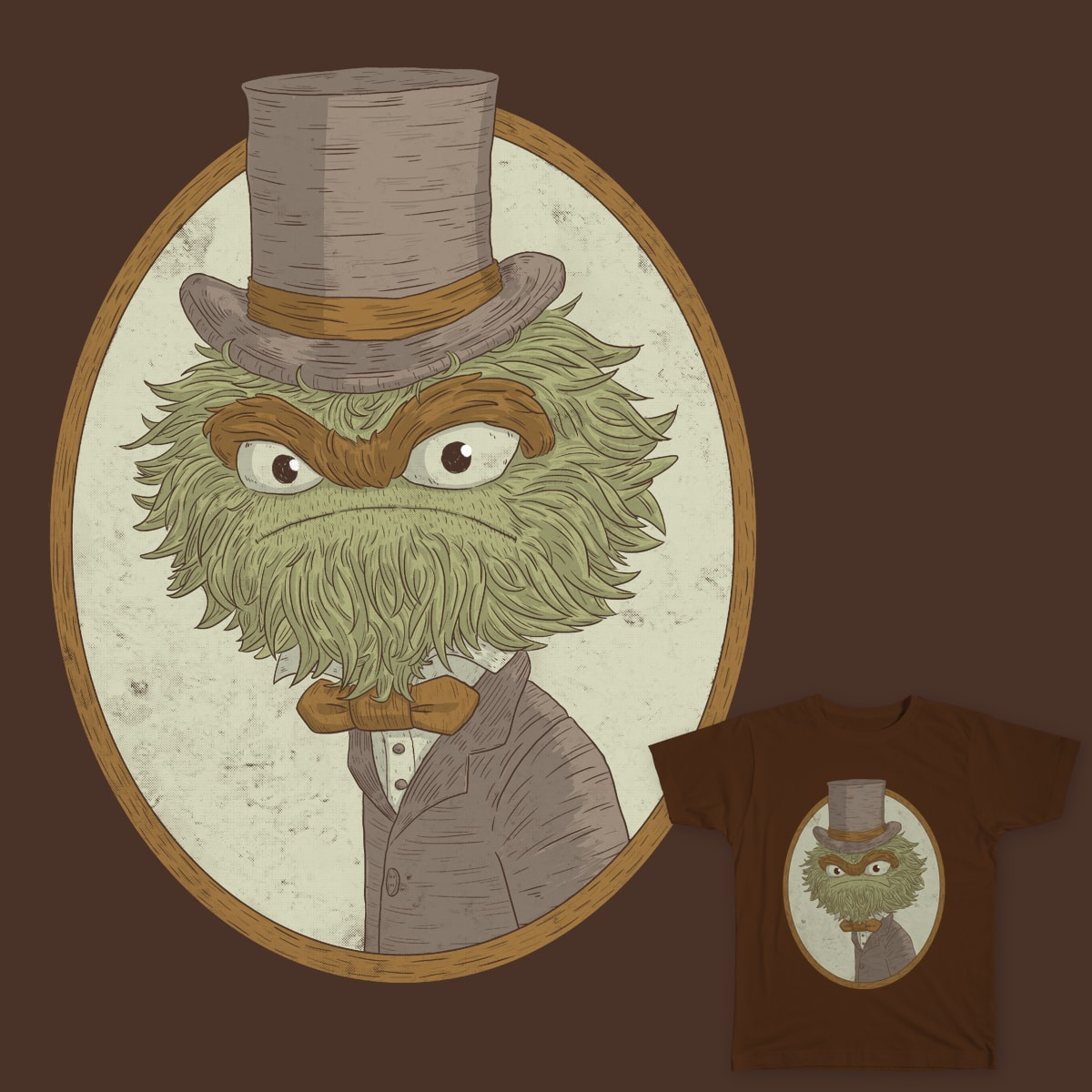 Sir Oscar The Malcontent. by lxromero on Threadless