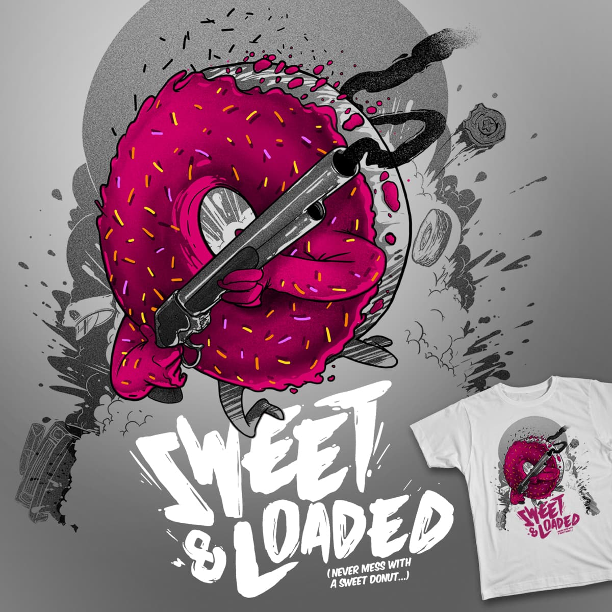 Sweet & Loaded!. by XAVE on Threadless