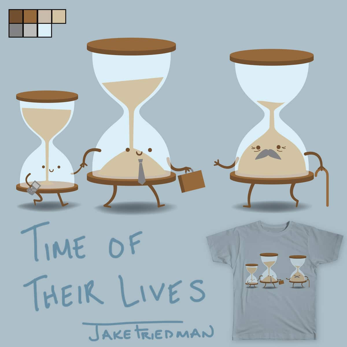 Time Of Their Lives by Jake Friedman on Threadless