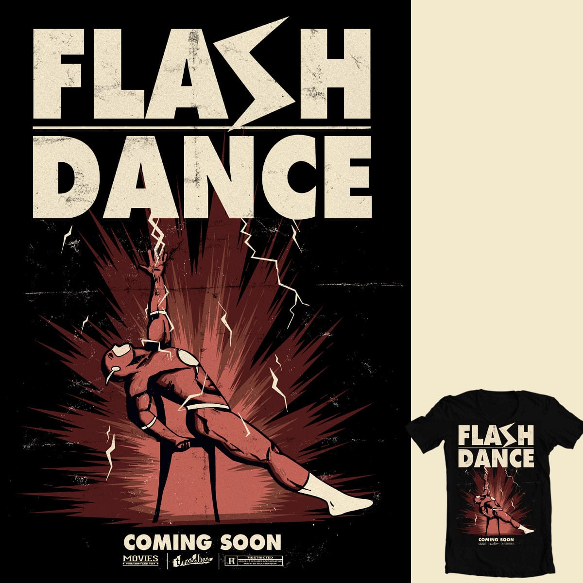 Flash-Dance by Dani Martinez on Threadless