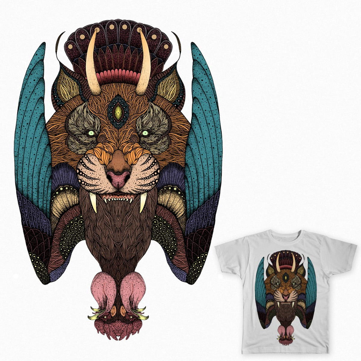 Tiger by bdmolloy on Threadless