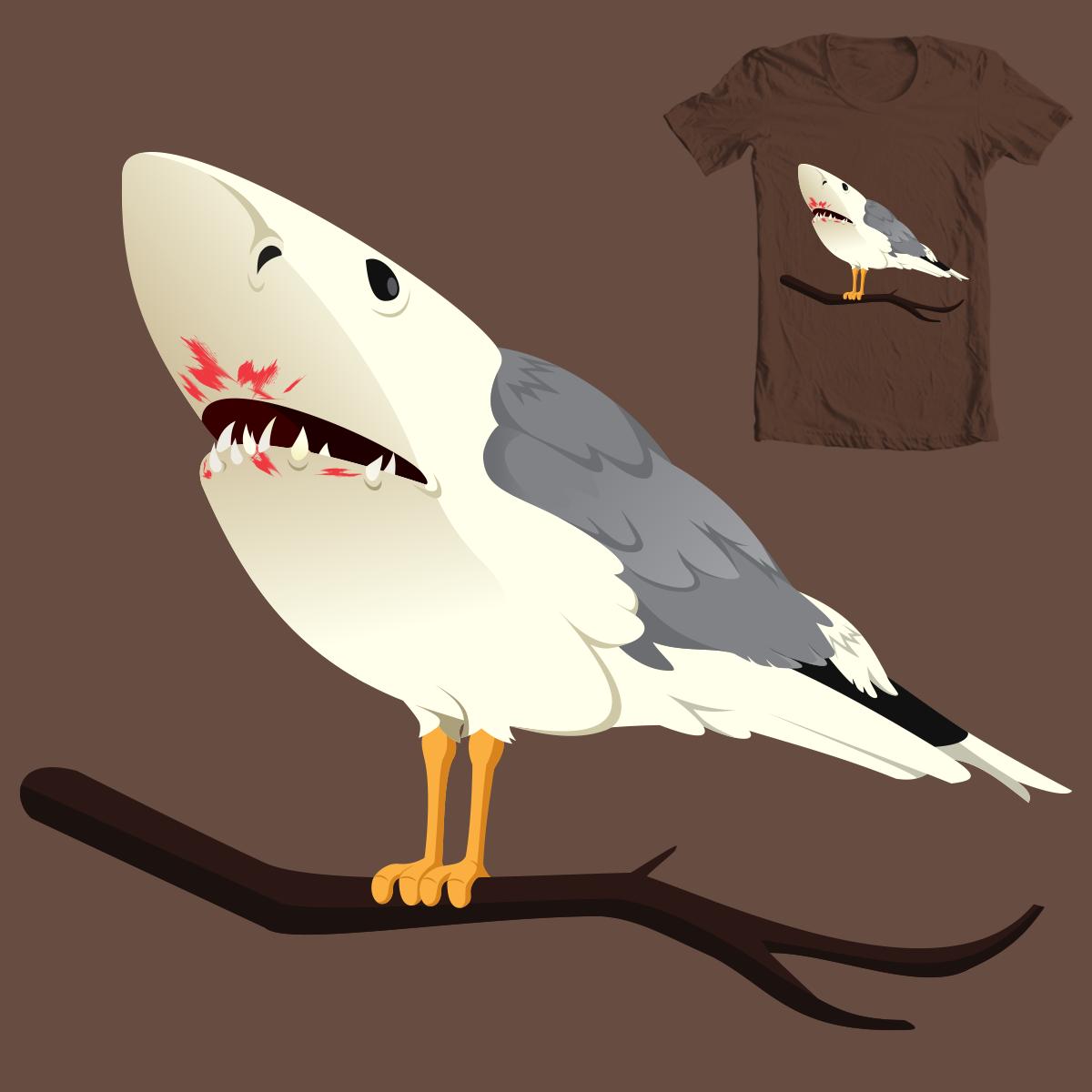 Birdshark by epiccoders on Threadless