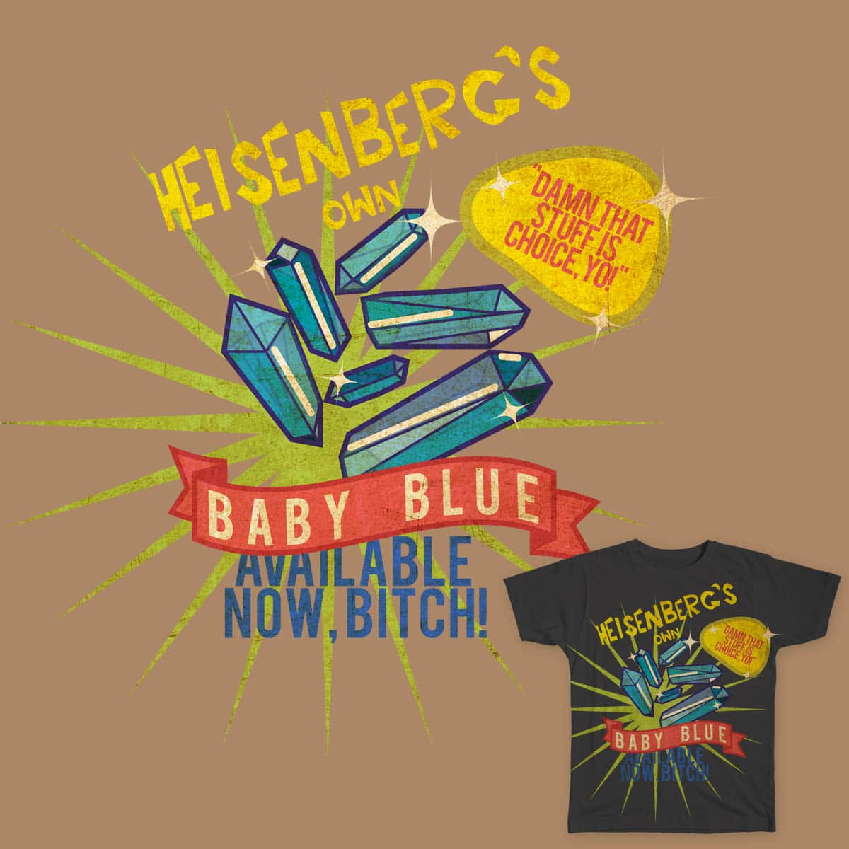 Baby Blue by Brthdaygrl on Threadless
