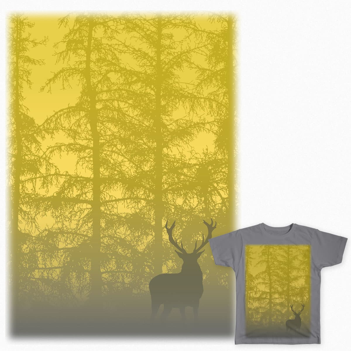 The Stag by louise.kelly.1291 on Threadless