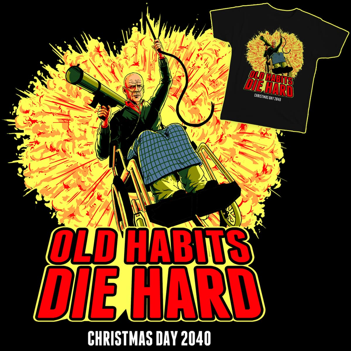 Old Habits Die Hard by finnathan on Threadless
