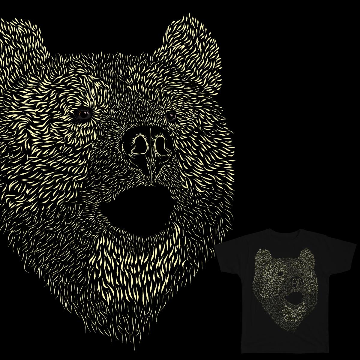 teddy bear. by hey amad on Threadless