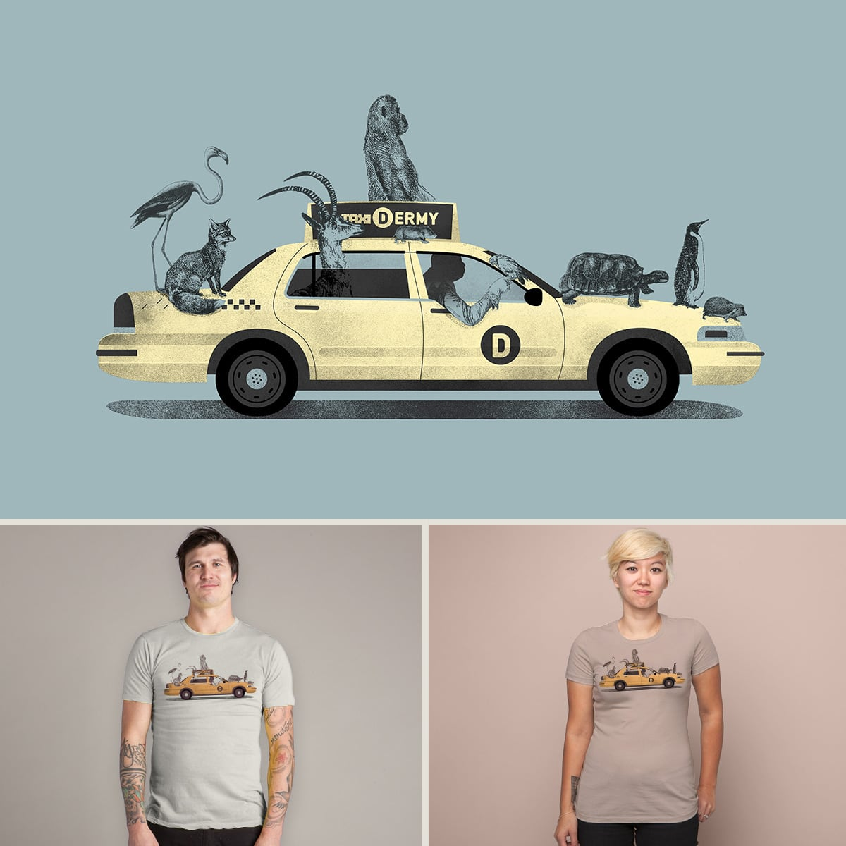 1-800-TAXIDERMY by JacquesMaes on Threadless