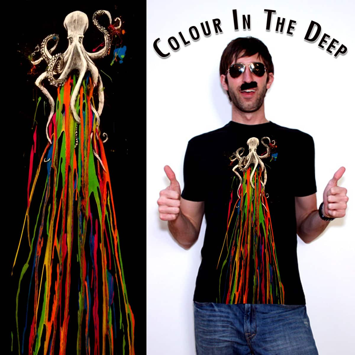 Colour In The Deep by AdamBlakemore on Threadless