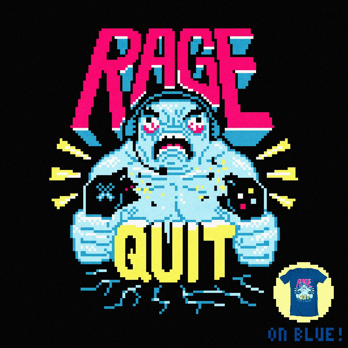 RAGE QUIT by aled on Threadless