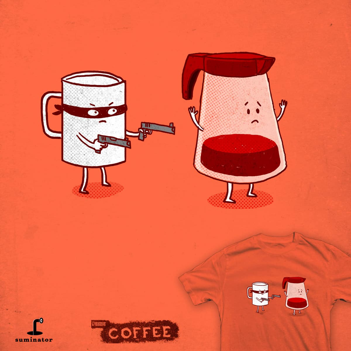 Coffee Mugger by Suminator on Threadless