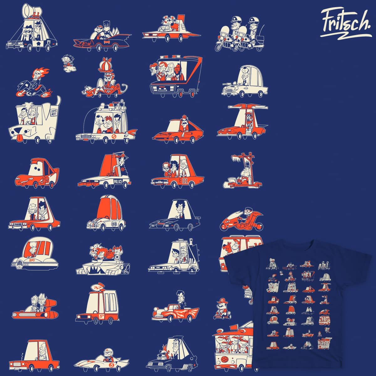 Cars by Fritsch on Threadless