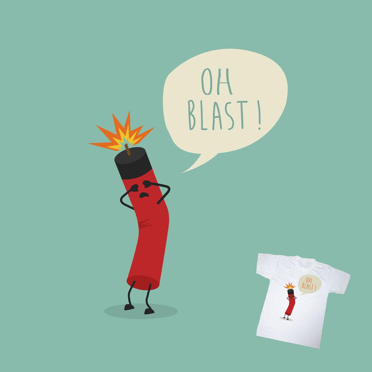 Oh Blast! by IanOHanlon on Threadless